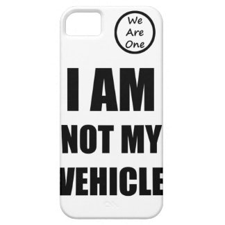 I am not my vehicle iPhone SE/5/5s case