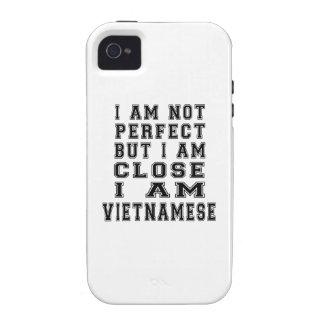 I Am Not Perfect But I Am Close I Am Vietnamese iPhone 4 Cases