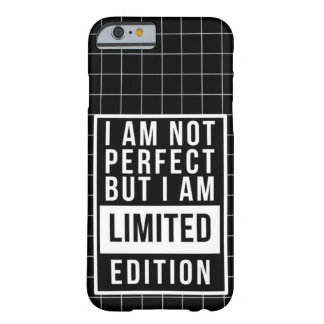 I am not Perfect But I am LIMITED Edition: Rap Mon Barely There iPhone 6 Case