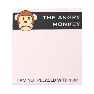 I am not pleased with your performance memo note pads