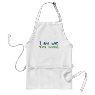 I am not the maid! adult apron