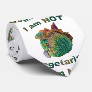 I Am Not Vegetarian Neck Tie