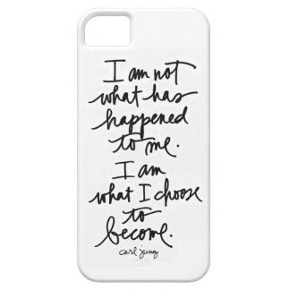 I am not what has happened to me Phone cover
