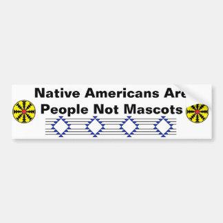 I Am Not Your Mascot Bumper Sticker