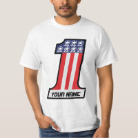 I am Number One #1 - Personalized T-Shirt