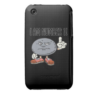 I Am Number One iPhone 3 Case
