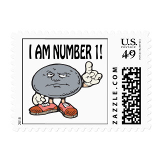 I Am Number One Postage