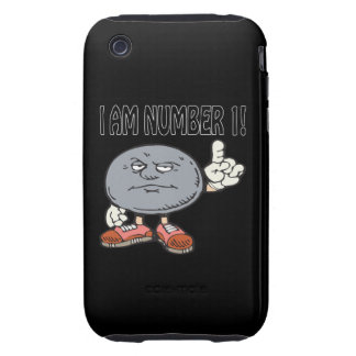 I Am Number One Tough iPhone 3 Cases