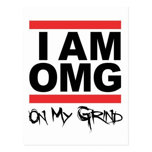 I Am OMG Post card