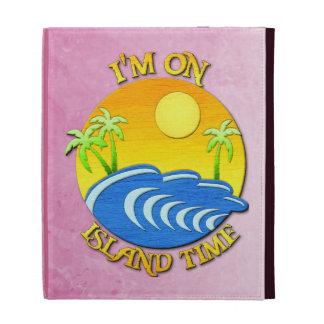 I Am On Island Time iPad Folio Case