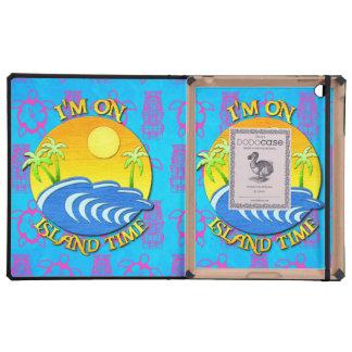 I Am On Island Time iPad Folio Cases