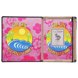 I Am On Island Time iPad Cases
