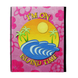 I Am On Island Time iPad Case