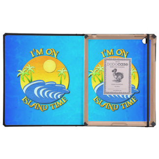 I Am On Island Time Case For iPad
