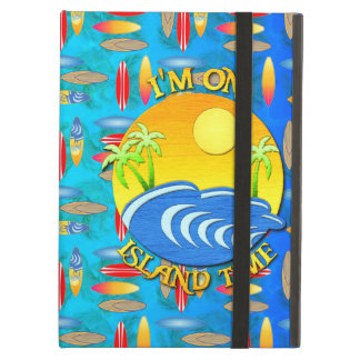 I Am On Island Time iPad Air Cover