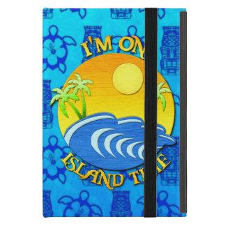 I Am On Island Time iPad Mini Covers