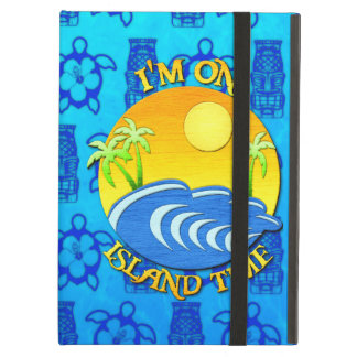 I Am On Island Time iPad Covers