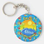 I Am On Island Time Key Chain