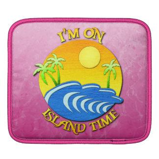 I Am On Island Time Sleeve For iPads