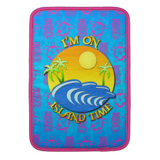 I Am On Island Time Sleeves For MacBook Air