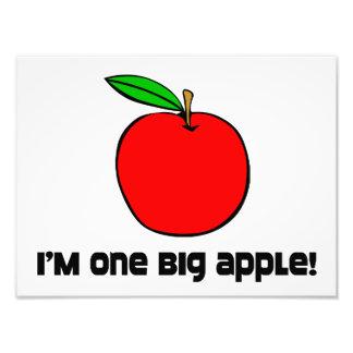 I Am One Big Apple Art Photo
