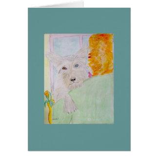 i am one cute doggie stationery note card