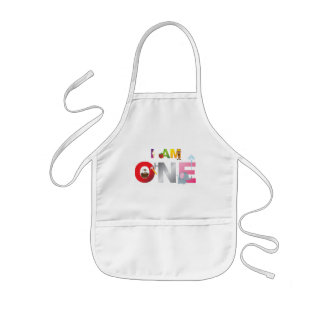 i am one gifts for children kids' apron