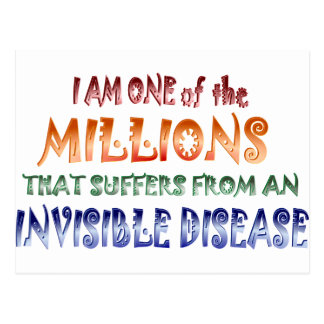 I am one of the millions... postcard