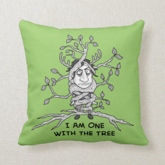 I am ONE with the tree Pillows
