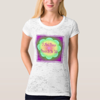 I Am Peace Peace Is In Me top Tee Shirts