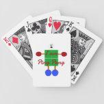 I am Ping Pong Cartoon Bicycle Card Deck