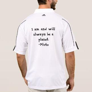 I am Pluto and I AM A PLANET Polo T-shirt