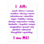 I Am Postcard