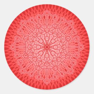 I AM POWER: Muladhara - The Root Chakra Classic Round Sticker