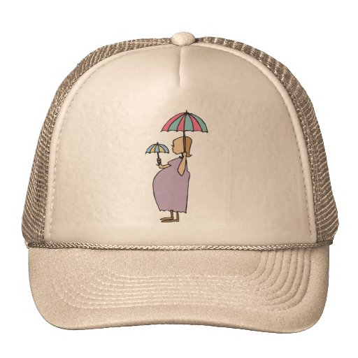 I Am Pregnant Gift Trucker Hat