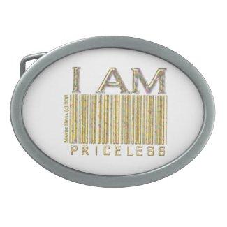 I Am Priceless - Belt Buckle