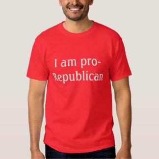 I am pro-Republican - mens t-shirt