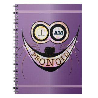 I am PRONOID Spiral Notebook
