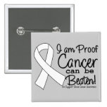 I Am Proof Bone Cancer Can Be Beaten Button