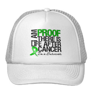I Am Proof There is Life After Kidney Cancer v2 Trucker Hats
