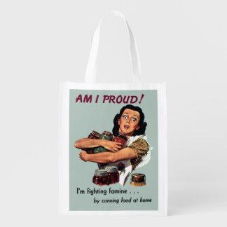 I Am Proud Reusable Grocery Bag