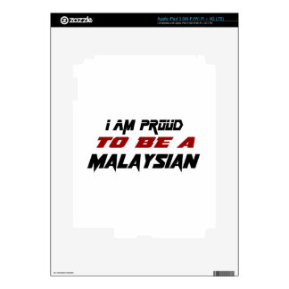 I am proud to be a Malaysian iPad 3 Decal