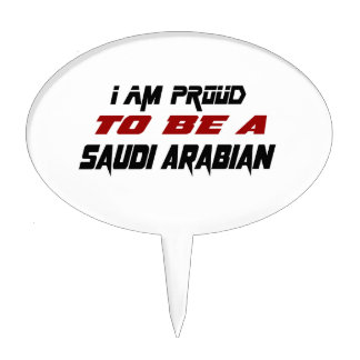I am proud to be a Saudi Arabian Cake Toppers