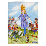 I am Queen Alice in Wonderland Greeting Card