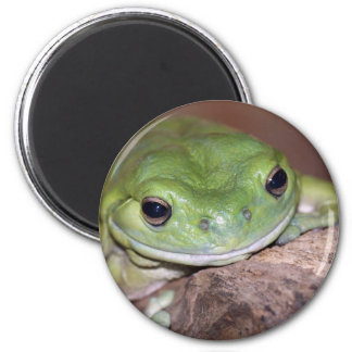 I am quiet comfortable here 2 inch round magnet