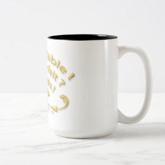 I am Reliable Yellow Back White Mug