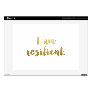 I Am Resilient Decals For Laptops