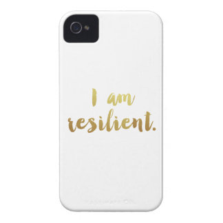 I Am Resilient iPhone 4 Case
