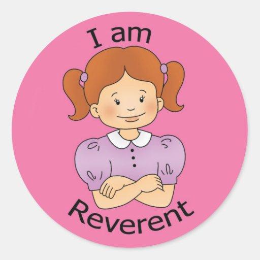I am Reverent Sticker