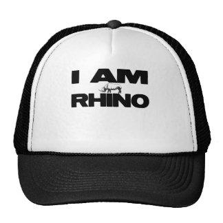 I AM RHINO TRUCKER HAT